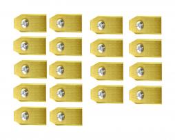 Lames De Tondeuse Robot Pour Gardena – Set De 18 En Titane