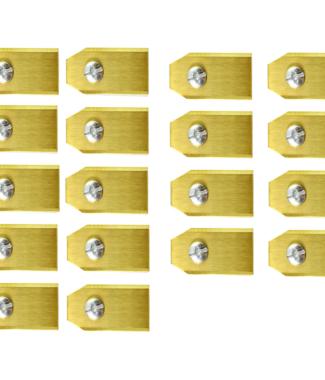 Lames De Tondeuse Robot Pour Gardena – Set De 60 En Titane
