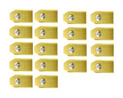 Lames De Tondeuse Robot Pour Yardforce – Set De 30 En Titane