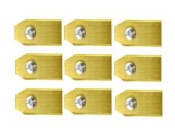 Lames De Tondeuse Robot Pour Yardforce – Set De 9 En Titane